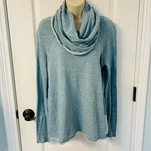 Free People Beach One Body Un Corps Light Blue Top
